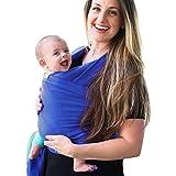 hibote Bebé Mochila 0-3 Age cubierta de enfermería transpirable Cómoda infantil de la honda del bebé suave del portador del abrigo del C5