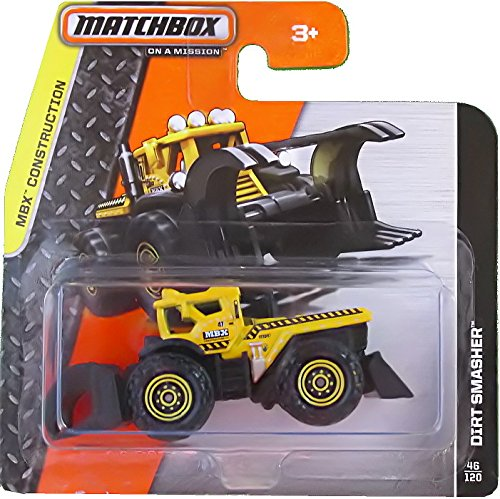 Matchbox Traktor Dirt Smasher Gelb – MBX Construction Bulldog günstig kaufen