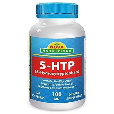 5-HTP 100 mg 120 Capsules by Nova Nutritions