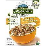 Cascadian Farm Organic Cereal, Cinnamon Crunch,9.2 Oz (Pack Of 10)