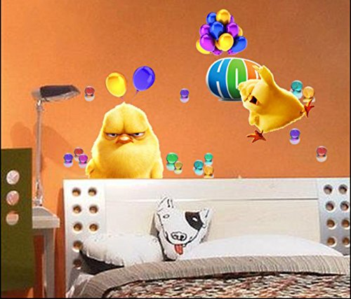 Design Hop Movie Chicks Versus Bunnies Carlos&Phil Decal Removable Wall Sticker Home Decor Art Kids /Nursery front-919658