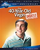 Cover art for  The 40-Year-Old Virgin [Blu-ray + DVD + Digital Copy] (Universal&#039;s 100th Anniversary)