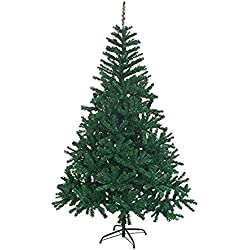 Artificial Premium Christmas Pine Tree With Solid Metal Legs 4',5',6' or 7' Feet (7FEET)
