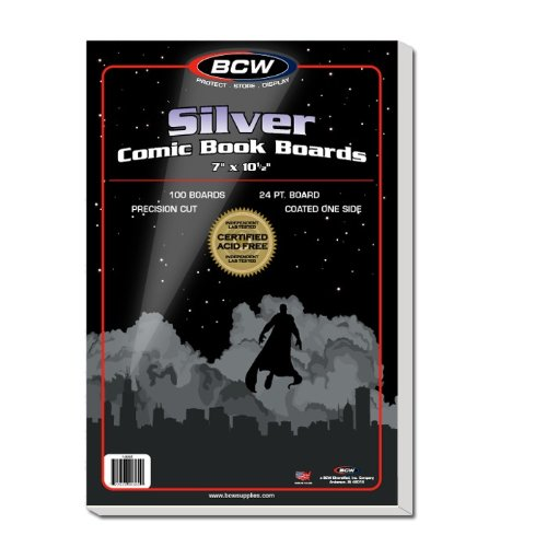 500 Ct. Silver Age Comic Backing Boards