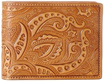Robert Graham Men's Rich Slimfold Wallet, Cognac, One Size