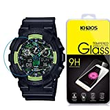 Khaos For CASIO G-SHOCK HD Clear Tempered Glass Screen Protector with Lifetime Replacement Warranty