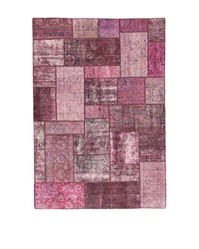 Eden Carpets Alfombra Pacthwork Rosa 246 x 169 cm