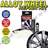 Car Micro Silver Metallic Alloy Wheel Refurbishment Repair Touch-Up Kit Ideal for Scuffs and Kerb Damage for JAGUAR XK8
