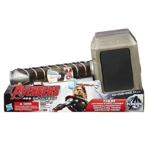 Hasbro B1306EU4 - Avengers Martello Luminoso di Thor