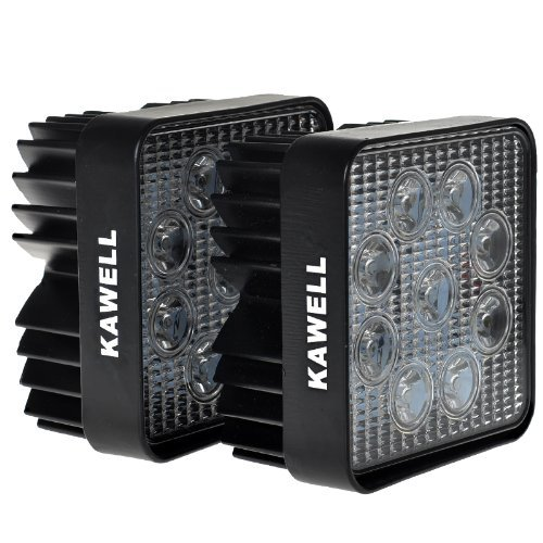 Kawell®  Pack of 2 27w Dc 12v 24v 6500k LED
