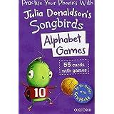 Oxford Reading Tree Songbirds: Alphabet Games Flashcardsby Julia Donaldson