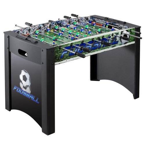 Read About Hathaway Playoff Foosball Table (Black/Green, 48 x 24 x 32-Inch)
