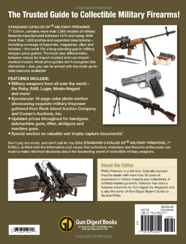 Standard Catalog of Military Firearms 7th Edition: The Collector's Price & Reference Guide