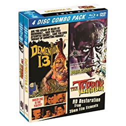 Blu-Ray Twin Pack: Dementia 13 & The Terror