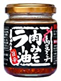 沖縄物産企業連合 島のスタミナ肉みそラー油 110g