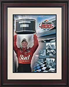 NASCAR Daytona 500 Program Framed Vintage Advertisement Race Year: 47th Annual - 2005 by Mounted Memories