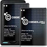 Caseology 2 X 3200 mAh Li-ion Replacement Battery for Samsung Galaxy Note 3 with Travel Wall Charger with USB Port (Non-NFC) [18-Month Warranty]