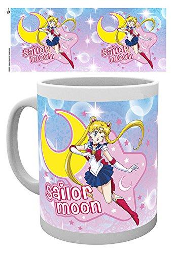 Sailor Moon-rosa-Tazza in ceramica-dimensioni 9,5cm