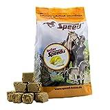 Speed LeckerSpeedis Banane - Pferdeleckerlis, das gesunde Leckerli für die Belohnung mit wichtigen Vitaminen (1 Kg) -