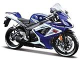 2006 Suzuki GSX-R 750 [Maisto 31153], Blau / Weiß, 1:12 Die Cast