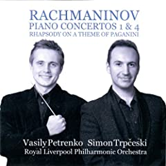 Rachmaninov: Piano Concertos 1 & 4 - Rhapsody on a Theme of Paganini