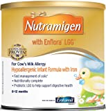 Enfamil Nutramigen  with Enflora Powder for Infants with Iron, 12.6-Ounce Cans (Case of 6)