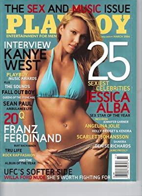 Jessica Alba Cover Playboy March 2006