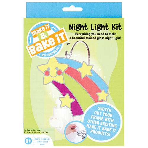 Colorbok Make It And Bake It Night Light Kit front-220859
