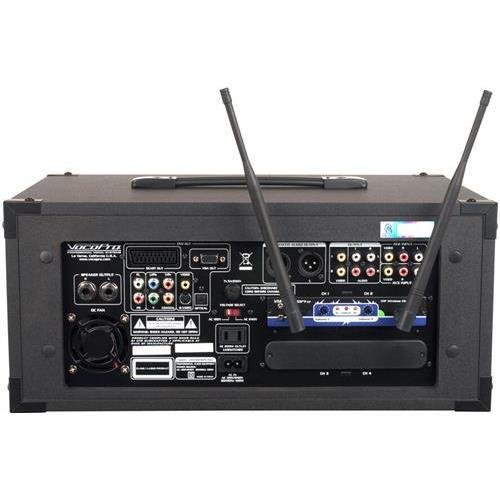 VOCOPRO CHAMPION-REC 3 HEAD 200W 4-Channel Multi-format portable PA with digital recorder