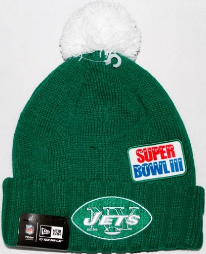 New York Jets New Era NFL Super Bowl Champions Commemorative Knit Hat at Amazon.com
