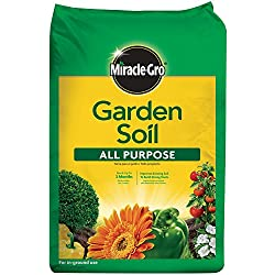 Miracle-Gro 75052430 All-Purpose Garden Soil, 2 CF (currently ships to select Northeastern & Midwestern states)