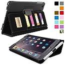 Snugg™ - Étui Professionnel Pour iPad Mini & iPad Mini 2 - Smart Case Avec Compartiment Pour Cartes Et Une Garantie à Vie (En Cuir Vert) Pour Apple iPad Mini & iPad Mini 2