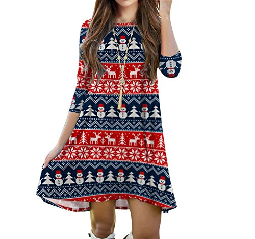 cousin-canal-korean-loose-fit-christmas-series-seven-sleeve-dresses-x-mas-women-skirts-003