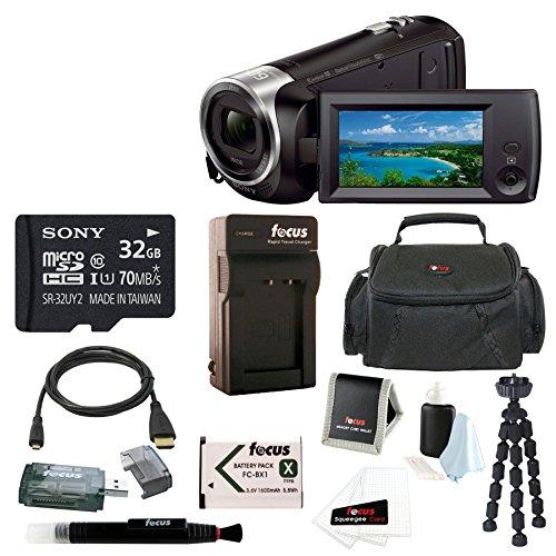 sony-hd-video-recording-hdrcx440-hdrcx440b-handycam-camcorder-sony-32gb-sdhc-sdxc-class-10-memory-ca