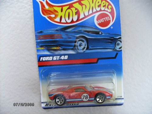 HOT Wheels Ford Gt-40 2000 #139 with 5 Spokes