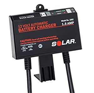 SOLAR 1002 1.5 Amp 12V Automatic Onboard Battery Charger