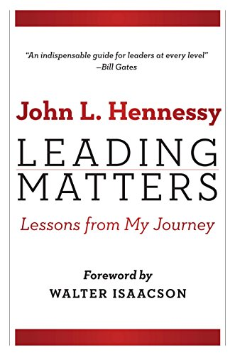 Leading Matters Lessons from My Journey [Hennessy, John L.] (Tapa Dura)