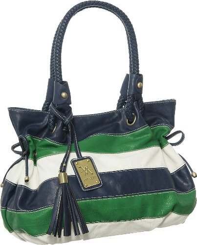 Blue & Green St Croix Tote