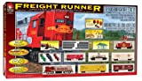 Life-Like Trains  HO Scale Freight Runner Electric Train Set