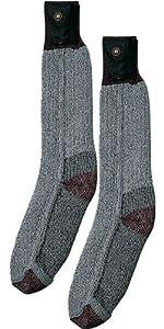"Grey ""Lectra"" Heated Socks MED [Misc.]"
