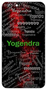 Yogendra (Again, God Of Yoga) Name & Sign Printed All over customize & Personalized!! Protective back cover for your Smart Phone : Samsung Galaxy S4mini / i9190