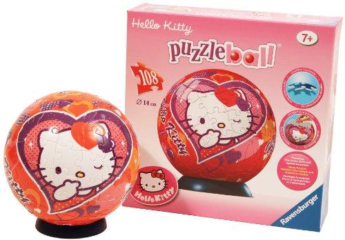 Imagen 3 de Ravensburger 11605- Puzzle infantil de Hello Kitty  (108 piezas)