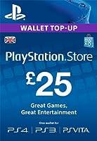 PSN CARD 25 GBP WALLET TOP UP [PSN Code - UK account]