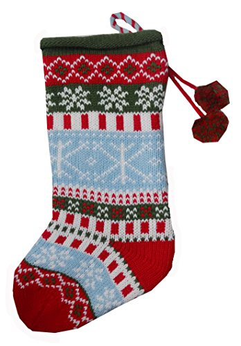 Traditional Ugly Christmas Sweater Stocking