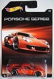 HOT WHEELS PORSCHE SERIES ORANGE PORSCHE CARRERA GT 7/8