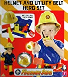 Fireman Sam Helmet & Utility Belt Hero Set & Torch, dress up