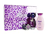 Katy Perry Purr Eau De Parfum 50ml and 120ml Body Lotion and Solid Perfume Locket Gift Set for Her