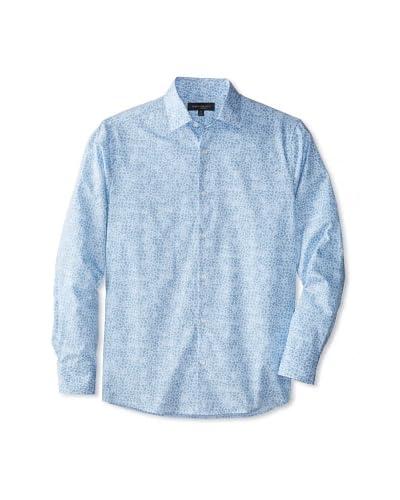 Robert Barakett Men's Wally Long Sleeve Woven Shirt