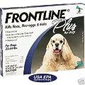 Frontline Plus 6-Month Flea Treatment DOGS 23-44 LBS