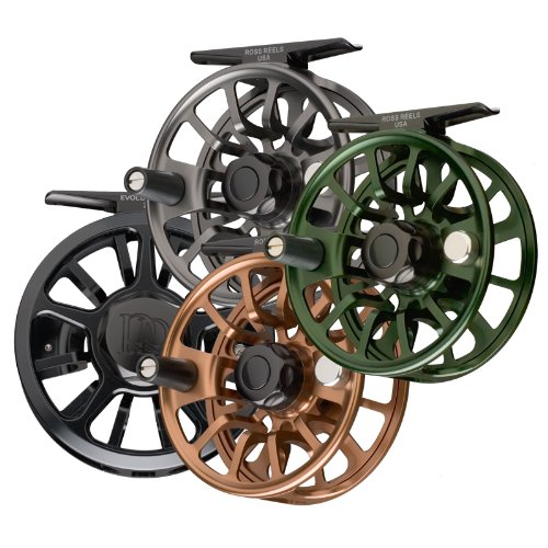 BLACK Ross Evolution Fly Reel 1-3 wt.